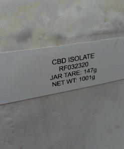 One Kilogram of CBD Isolate from OilWell CBD of Houston Texas Bulk CBD Isolate