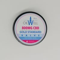 GOLD STANDARD All-Natural THC-Free 800mg Broad-Spectrum Extra Strength CBD Salve!