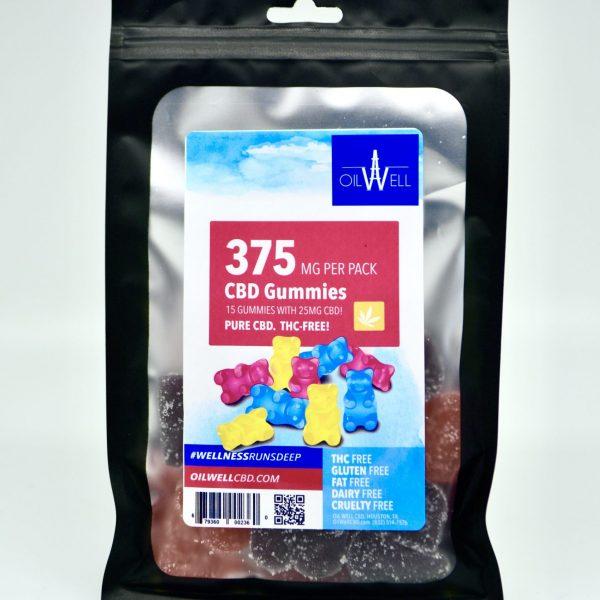 CBD Gummies with 25mg CBD, Each - THC-Free