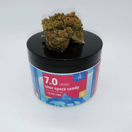 7 grams of hemp CBD flower but also available in half ounce ounce and even CBD flower by the pound in bulk for wholesale