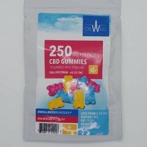 OilWell CBD 25mg CBD Gummies