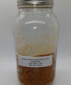 One Kilogram of THC Free Broad Spectrum CBD Distillate