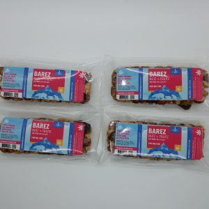 BAREZ Bear Bars: Vegan, Gluten-Free, all-natural, and Non-GMO fruit and nut edible bars with 100mg CBD Isolate per bar - BOX OF TEN BARS!