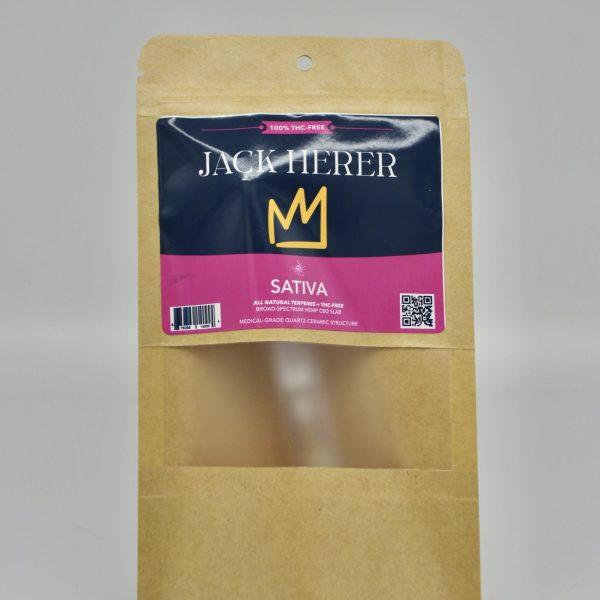 Jack Herer THC-FREE Sativa Hemp CBD Cartridge - 1 Gram, Medical-Grade Ceramic