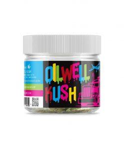 OilWell Kush Hemp CBD Flower Left of the Jar