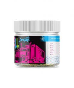 OilWell Kush Hemp CBD Flower Right of the Jar
