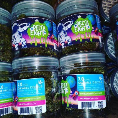 7 Gram Jar of Top-Shelf Delta-8 THC Hemp CBD Flower!
