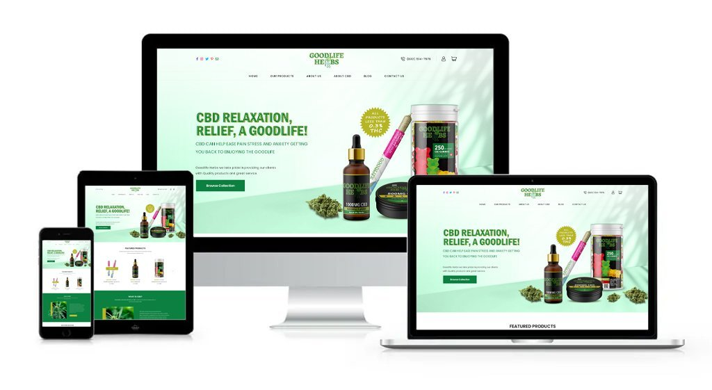 good life herbs Cannabis - Private-Label/White-Label Branding, Website Design, Logo Design, Packaging Design, Label Design, and Product Formulation