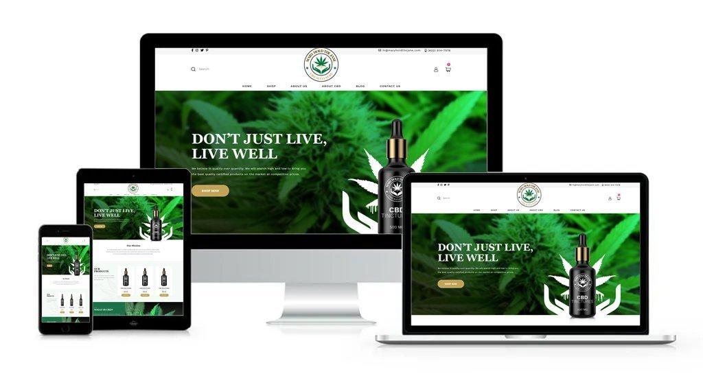 Mary Hold the Jane - Private-Label/White-Label Branding, Website Design, Logo Design, Packaging Design, Label Design, and Product Formulation