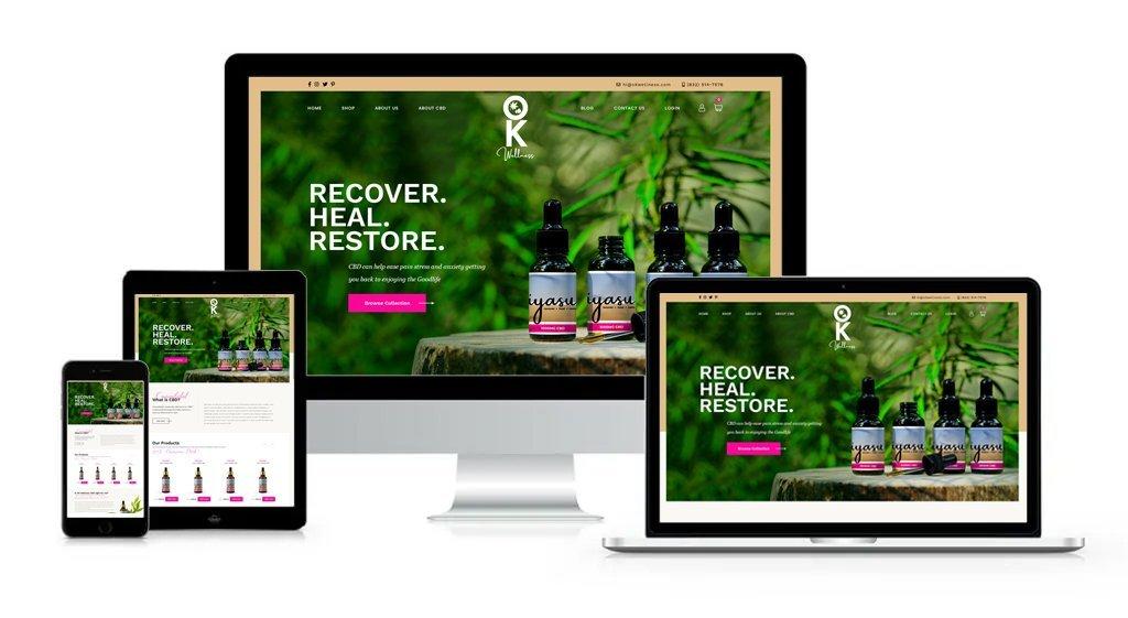 OK Wellness - Private-Label/White-Label Branding, Website Design, Logo Design, Packaging Design, Label Design, and Product Formulation